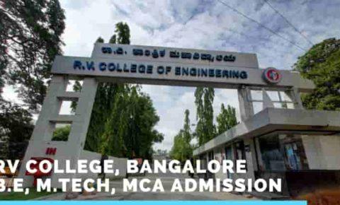 Management Quota Admission in RV College, Bangalore