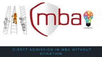 Direct MBA Admission Bangalore