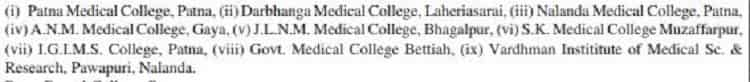 Medical Colleges in Bihar