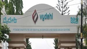 Vydehi Institute Of Dental Sciences & Research Centre