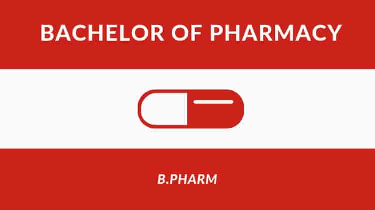 Bachelor of Pharmacy - Pharmacy courses after class 12th