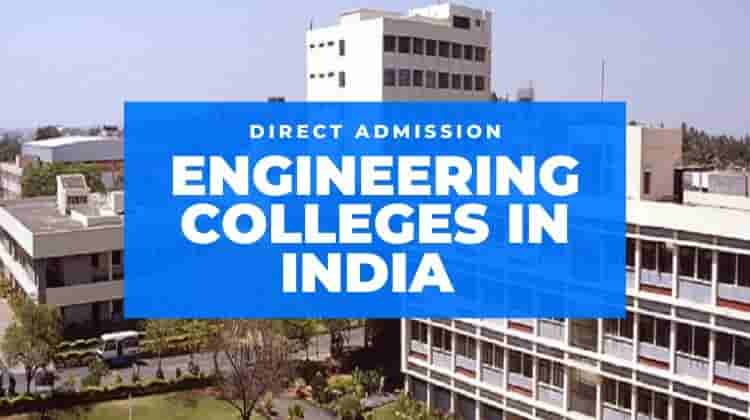 Direct Admission In Engineering College Without Donation