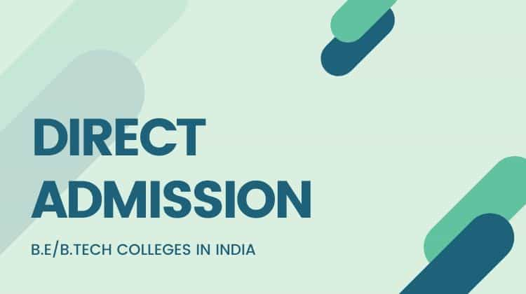 Engineering Colleges Direct Admission